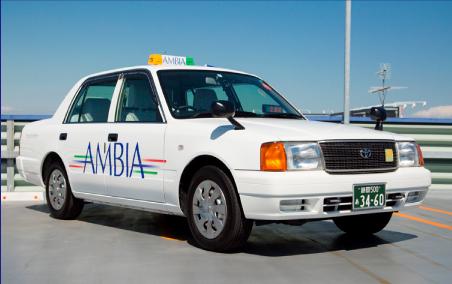 小型タクシーセダン画像