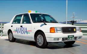 小型タクシー画像